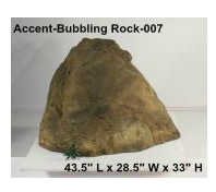 Universal Rocks, Accent Rocks, Bubbling Rocks & Artificial rocks for Landscaping Designing