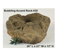 Beautiful Artificial Bubbling Rocks for a Volcano Idea