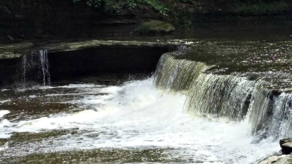 Hogback Ridge waterfalls