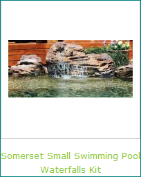 Smaller Swimming Pool Waterfalls Kits